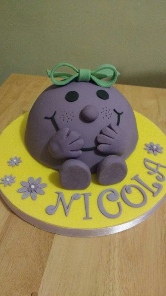 Little Miss birthday cake