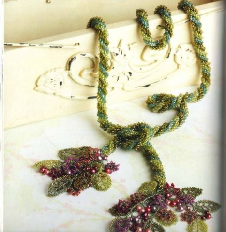 Тройной спиральный сад   biser.info - всё о бисере и бисерном творчестве