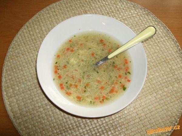 Falešné nudle do polévky z brambor jednoduchá netradiční zavářka do polévky