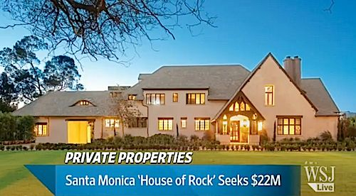Santa Monica's 'House of Rock' Seeks $22 Million (VIDEO)