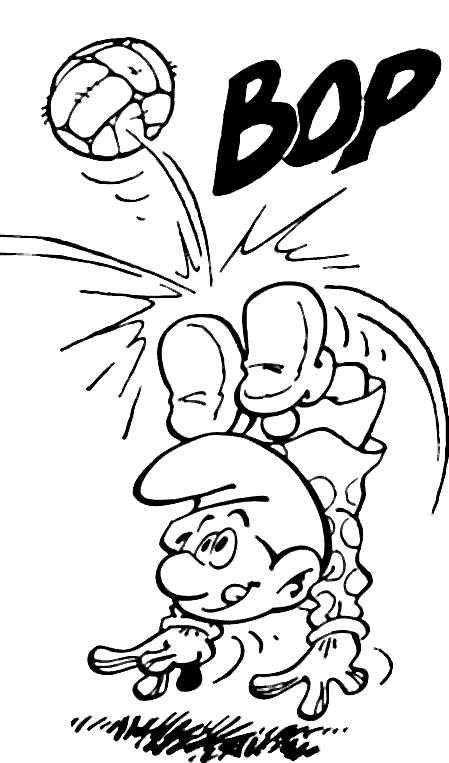 hackus smurf coloring pages - photo#12