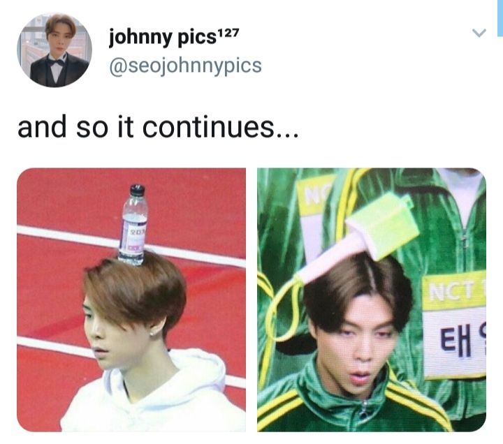 Johnny:2 Gravity:0 #NCT #MEMES #KPOP #FUNNY #JOHNNY