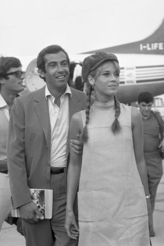 For the ultimate airport outfit inspiration, 25 vintage icons who traveled in style: Jane Fonda