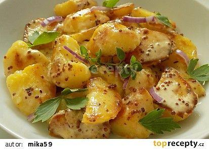 Smetanové brambory z pánve recept - TopRecepty.cz