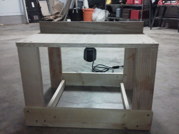 Picture of Router table for a Dremel Trio