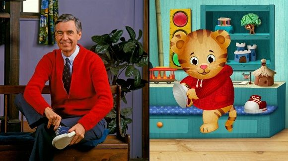 """Fred Rogers' Beloved """"Neighborhood"""" Springs To Life For A New Generation! Daniel Tiger's Neighborhood...Sawyer loves this new show!"""