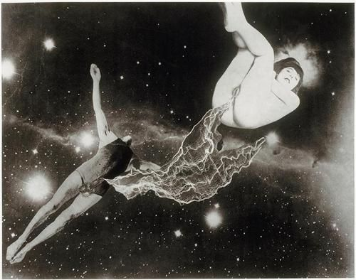 Jindřich Štyrský ~ Emilie comes to me in a dream, 1933 (via bits, Search results for: styrsky)
