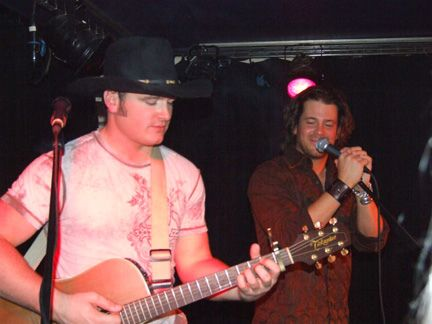 https://flic.kr/p/7mPiKu  #JerrodNiemann and #ChristianKane at The Troubadour, London, UK  (this looks like a CP Photo Images pic credit? ) This picture shared by  #ChristianKane management  #BrandXMgmt  there was no credit for who took this picture.. so credit goes to #BrandXMgmt Flickr account as to where you got it from!