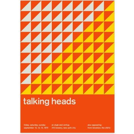 Print - Talking Heads