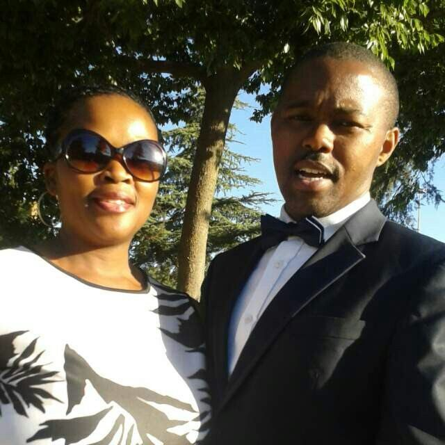 Our lovely friends - Jeff and Thandeka
