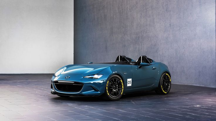 2015 Mazda MX-5 Speedster Concept  http://www.wsupercars.com/mazda-2015-mx-5-speedster-concept.php