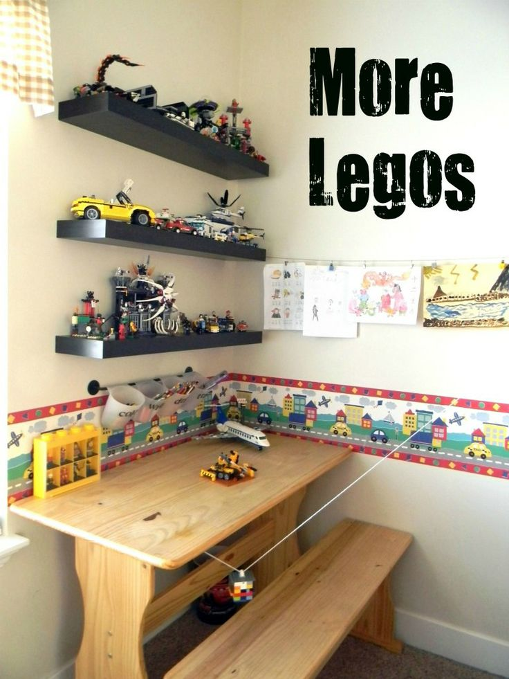 lego creation station more examples of organizing solutions in kids rooms - Boys Room Lego Ideas