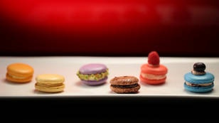 My Kitchen Rules TV Show: Macarons -  Scored 10 out of 10 from Judges Pete and Manu