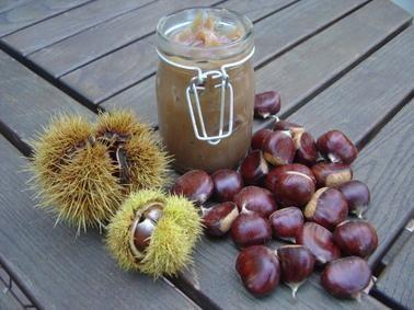 crème de marron, Corse