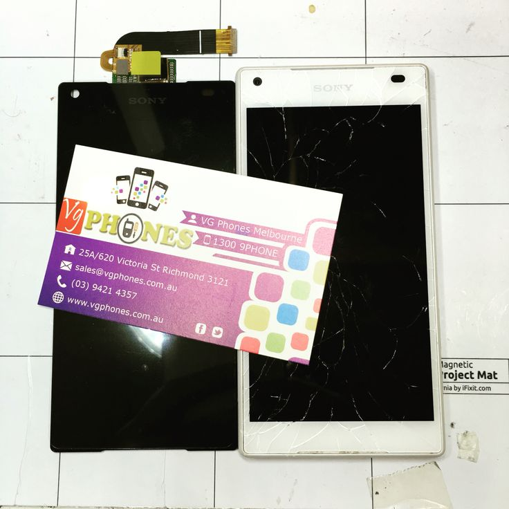 Sony Xperia z5 compact screen repairs #vgphones #z5conpact #sony