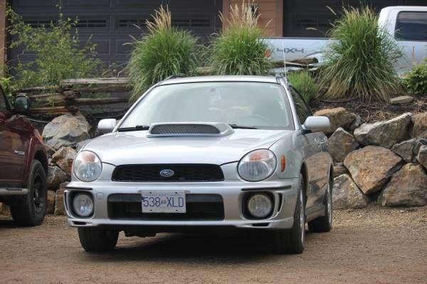 For Sale by Owner, 2003 Subaru Impreza WRX Wagon 2.0L Turbo Charged Boxer Engine AWD- 10,000$ OBO 5 Speed Manual Exterior Colour:  http://cacarlist.com/man/2003-subaru-wrx-stage-2-manual-5spd-w-roof-rack-winter-tires-obo_10674-10584.html
