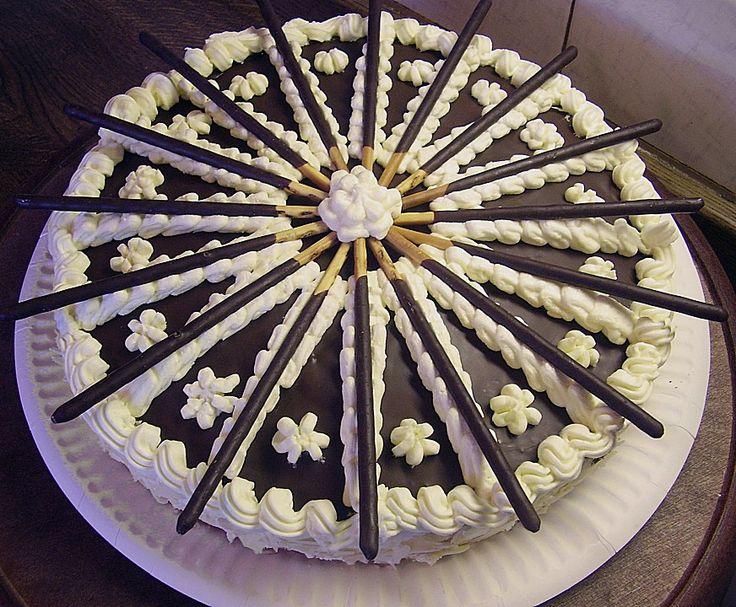 Geheime Rezepte: Mikado - Torte mit Bananen