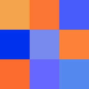 7 maneras de crear constrastes de color: Contraste de colores frios y calidos o temperatura