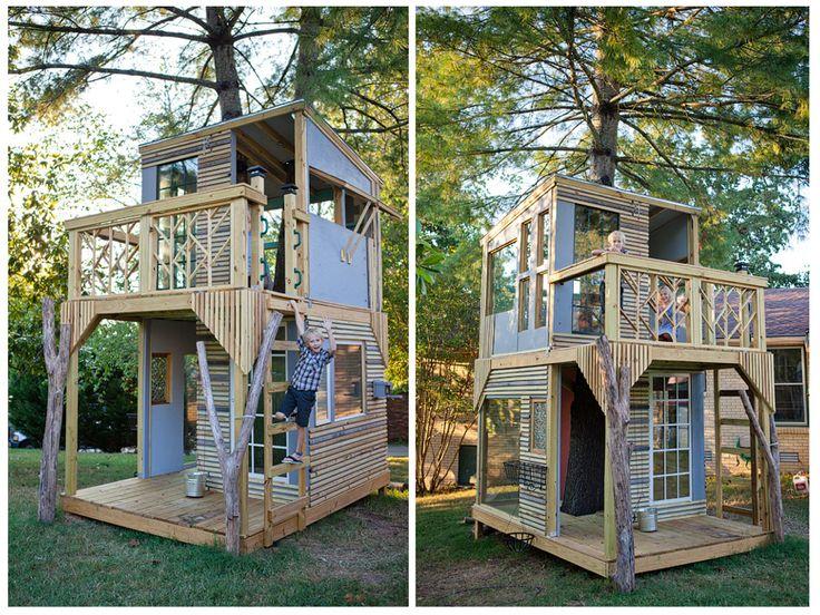 Construire une cabane dans son jardin! - Idée - Dowize