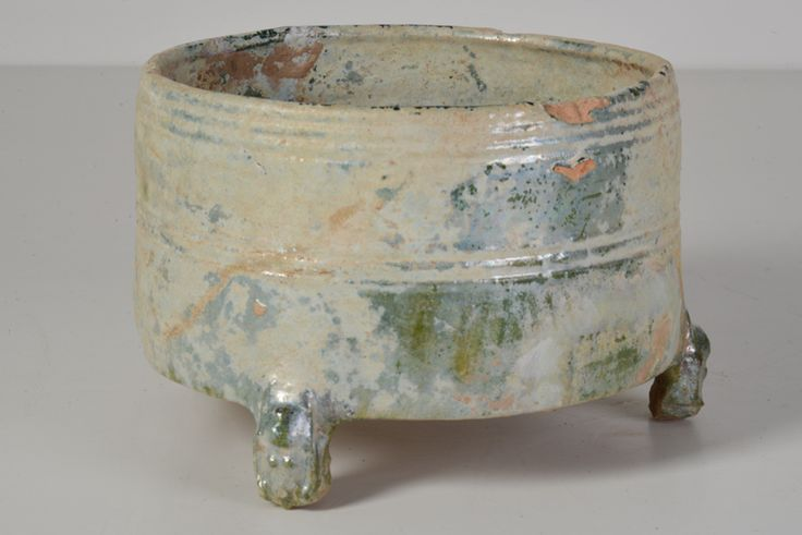 Green Glazed Incense Burner // Han Dynasty - Wall - Greedfineart.com