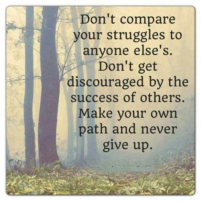 Create Your Own Quotes On Pictures: Make Your Own Path And Never Give Up.