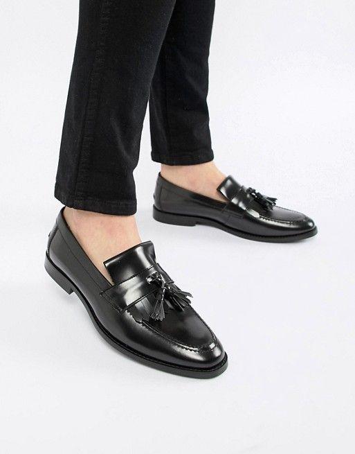 Leather shoes men, Loafers men