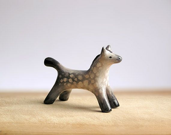 Animal Totem Dapple Grey Horse, horse totem, horse figurine, home decor, zoo