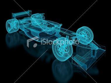 Formula One Mesh Royalty Free Stock Photo