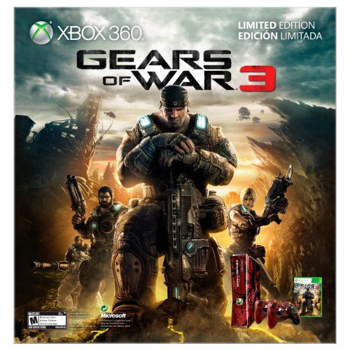 Buy Cheap Xbox 360 Gears of War 3 Limited Edition Console Bundle