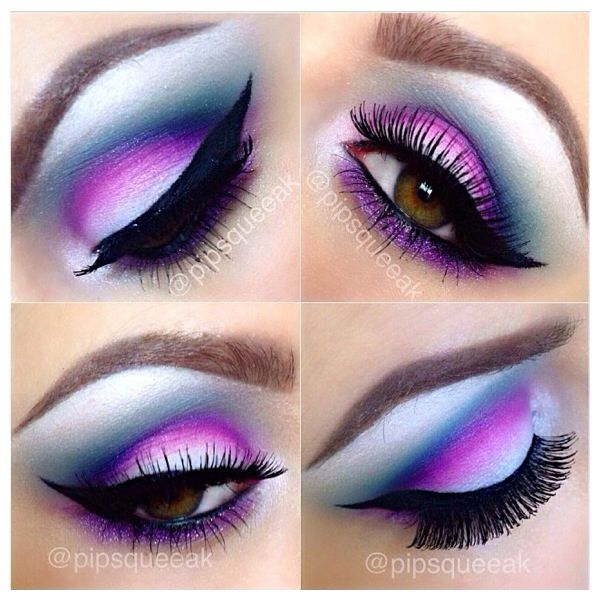 This eye makeup reminds me of the the cat in alice in the wonderland.