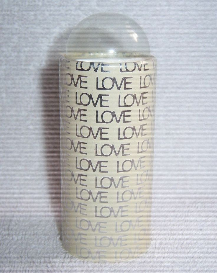 RARE Vintage Love Cosmetics Menley & James Eau de Love