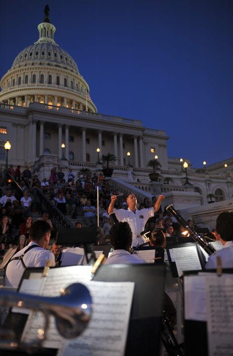 4th of july dc concert rehearsal 2013