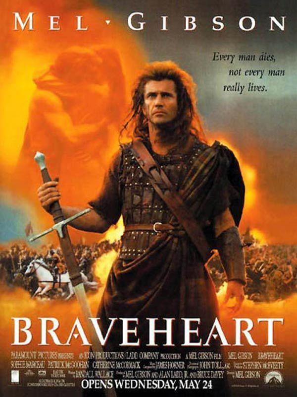 Braveheart est un film de Mel Gibson avec Mel Gibson, Sophie Marceau. Synopsis : Evocation de la vie tumultueuse de William Wallace, héros et symbole de l'indépendance écossaise, qui à la fin du XIIIe siècle affronta les troupes du