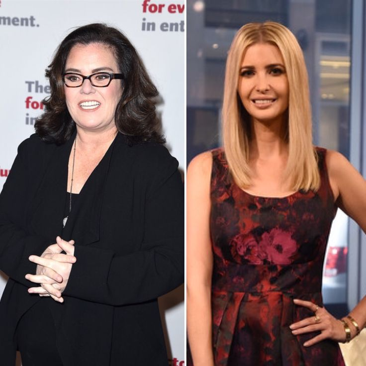 <b>Rosie</b> <b>O'Donnell</b> Runs Into Donald <b>Trump's</b> Daughter Ivanka in New York ...