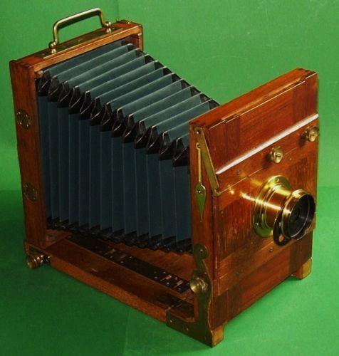Reisekamera-Plattenkamera-Alfred Brückner,Rabenau, Modell Solid-1910-1920