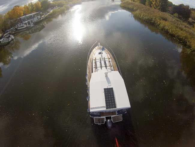 Hausboote Masuren Polen #masuren #hausbooturlaub