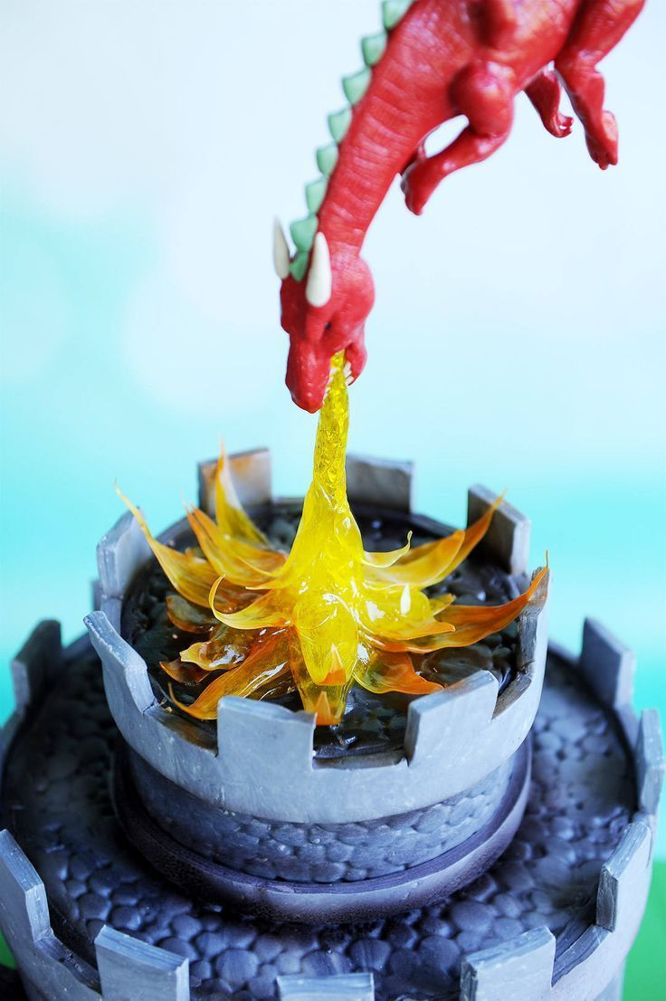 Brilliant Dragon Castle Cake Tutorial Dragon Cakes Dragon Birthday Cakes Funny Birthday Cards Online Alyptdamsfinfo