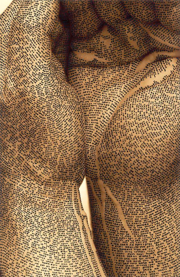 Body Calligraphy – Les créations de Ronit Bigal