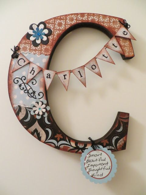 17 best images about handmade gift ideas on pinterest for Small wooden letters for crafts