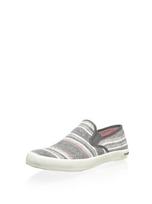 67% OFF SeaVees Men's Baja Surfari Slip-On (Grey Poncho Stripe)