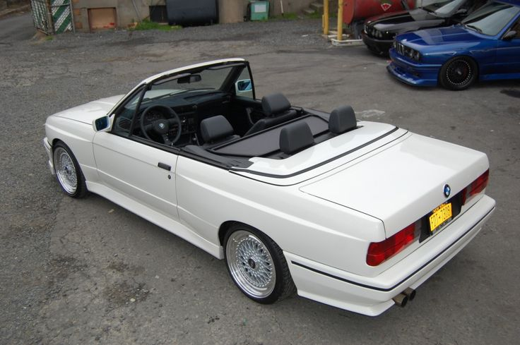 BMW E30 M3 Convertible Build and Restoration ! Hot classic convertible with the new flavor added ! BBS RS, Custom Interior, Euro Goodies! – My Build Garage