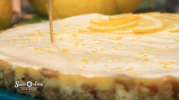 Zitronen-Käsekuchen-Tarte  - Sweet & Easy - Enie backt - sixx