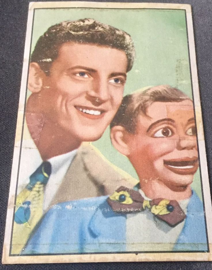 PAUL WINCHELL * STAR OF JERRY MAHONEY T.V. SHOW * N.B.C. TRADING CARD    # 18