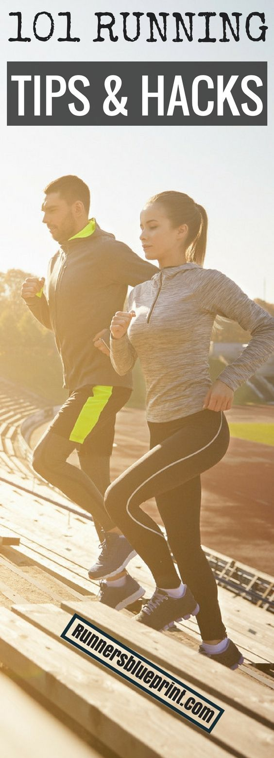 If you're serious about becoming the best runner you can be, then you're in the right place.  In today's post, dear reader, I'm sharing with you more than 100 running tips to help make your workout routine a complete success.  Follow these practical, simple, and proven strategies, and you'll reach your full running potential in no-time. http://www.runnersblueprint.com/best-running-tips-and-hacks-of-all-time/ #Running #Tips