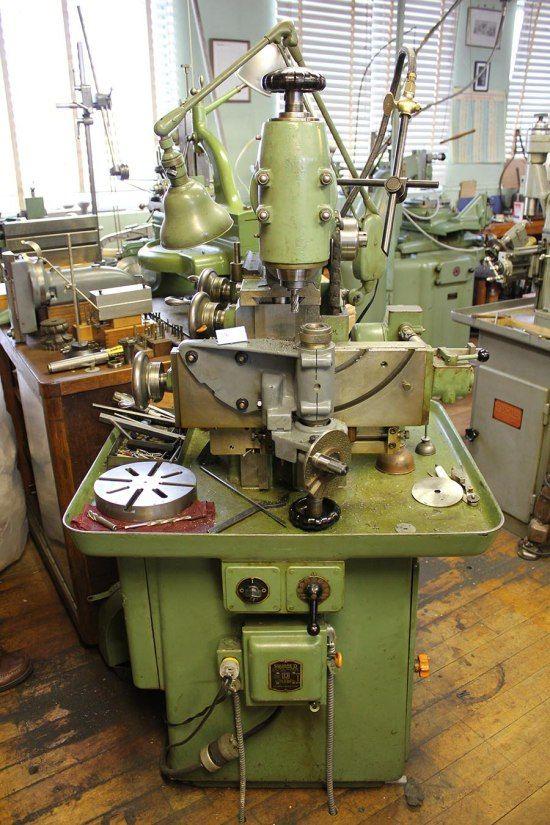 Schaublin SV12 Milling Machine