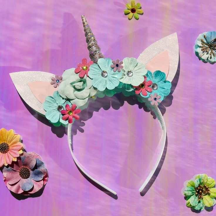 Make this magical Unicorn Crown for parties, role playing or fantasy occasions