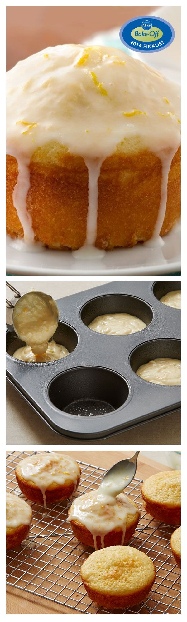 47th Bake-Off Contest Finalist: Glazed Orange Muffins by Paula Mahagnoul from Keystone, SD