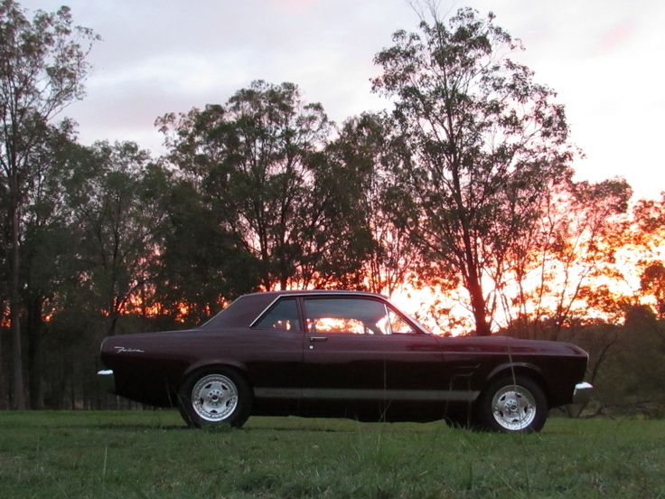 """67 Falcon Sports Coupe, Running a 538 BBF Stroker , C6, 4800 Stall and 9"""" Trutrak"""