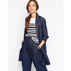 ASOS Relaxed Jacket in Premium Linen