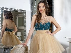 "Bej balerin etekli transparant detayli kisa elbise (from <a href=""http://www.abiyeelbisemodelleri.com/picture.php?/535/see_my_photos"">Abiye Elbise Modelleri</a>)"